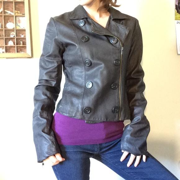 Bailey 44 Jackets & Blazers - Bailey 44 Dark Brown Soft Leather Jacket